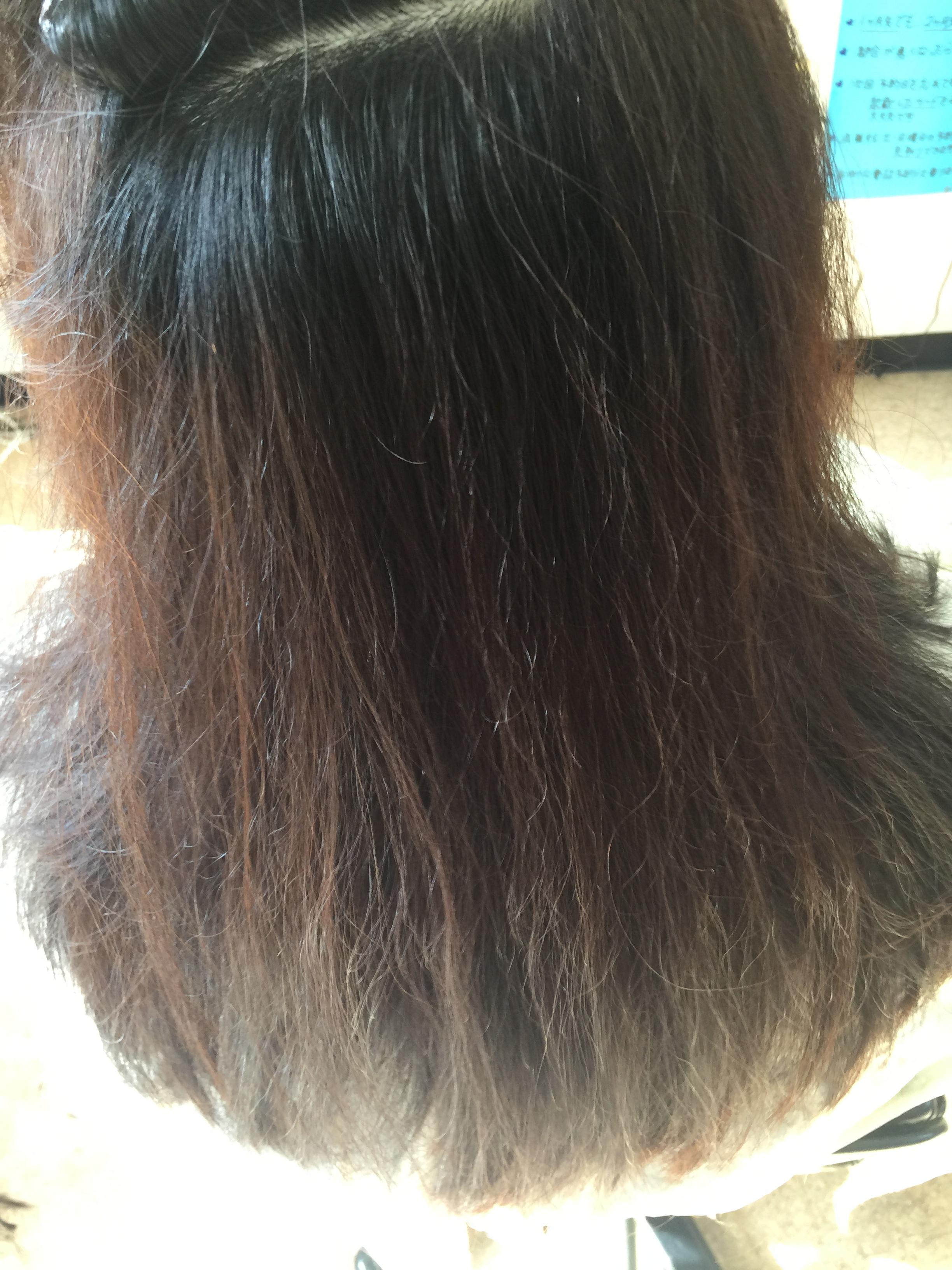 クセ毛がサラサラヘア